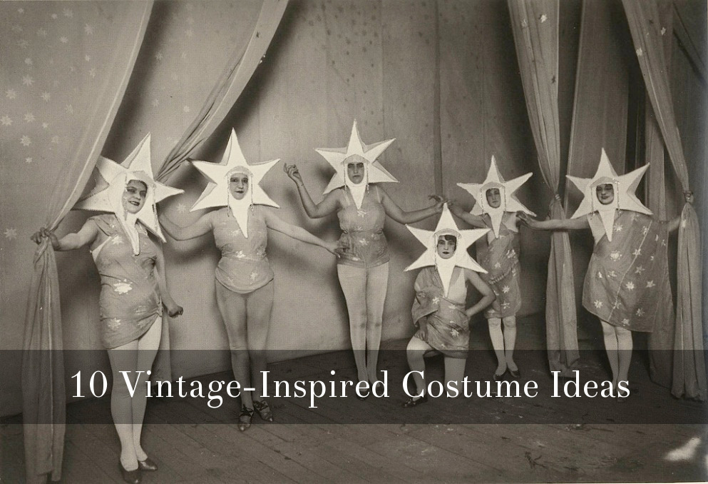 10 Vintage-Inspired Costume Ideas