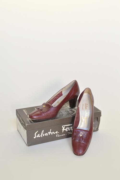 Vintage Ferragamo shoes from Dalena Vintage