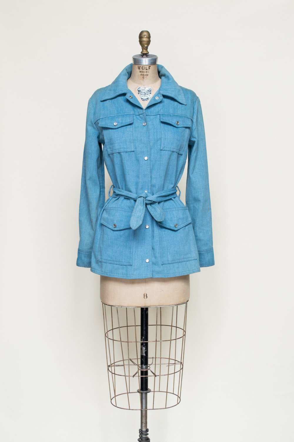 1960s denim jacket from Dalena Vintage