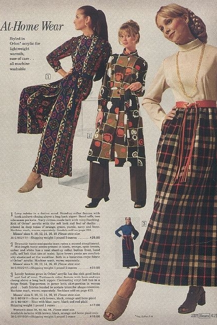 1970s Sears ad via Dalena Vintage