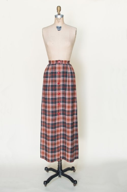 1970s Pendleton skirt from Dalena Vintage