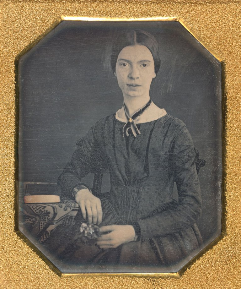 Emily Dickinson, daguerreotype, ca. 1847. (Amherst College Archives & Special Collections, gift of Millicent Todd Bingham, 1956)