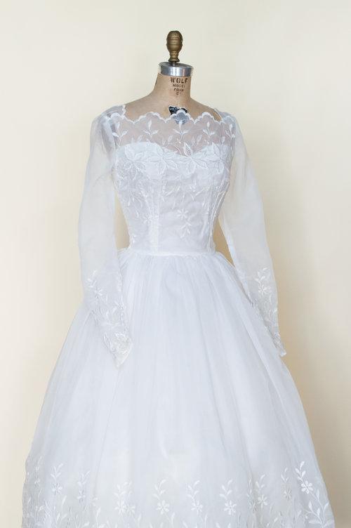 Angelina Wedding Dress — Vintage Clothing Store Online   Austin ...