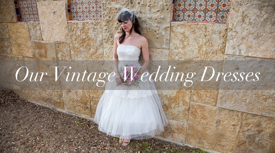 Vintage Wedding Dresses for Sale