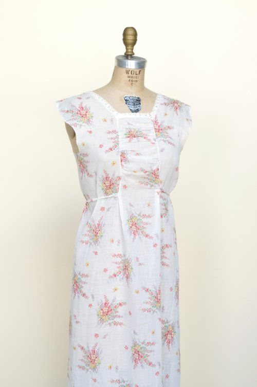 1930s floral dress from Dalena Vintage