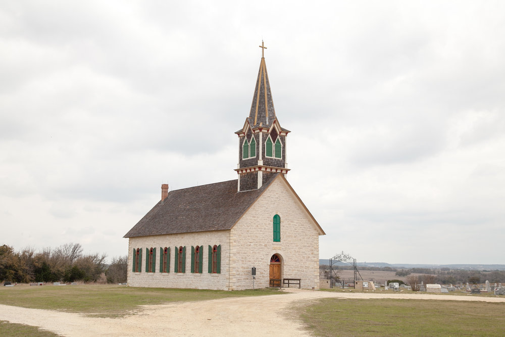 The Rock Church in Cranfills Gap, Texas