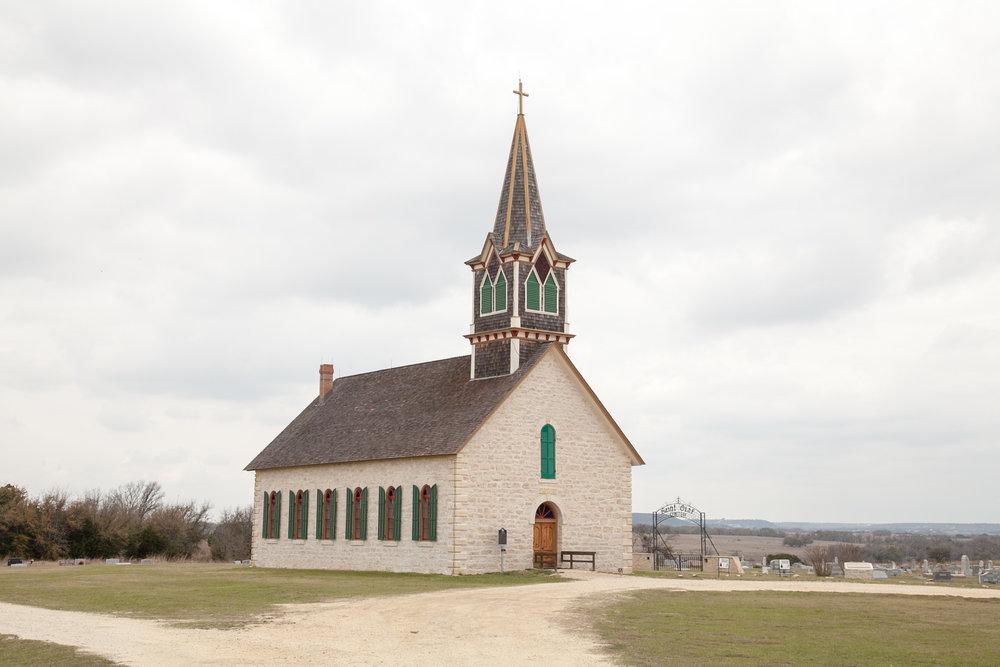 The Rock Church in Cranfills Gap, Texas