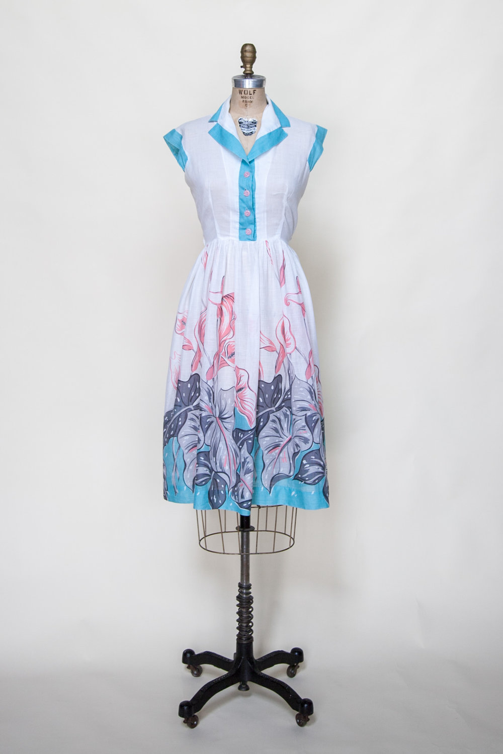 Vintage 1950s dress from Dalena Vintage