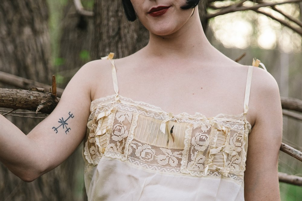 Gorgeous 1920s step in from Dalena Vintage. Photo by Nicole Mlakar.