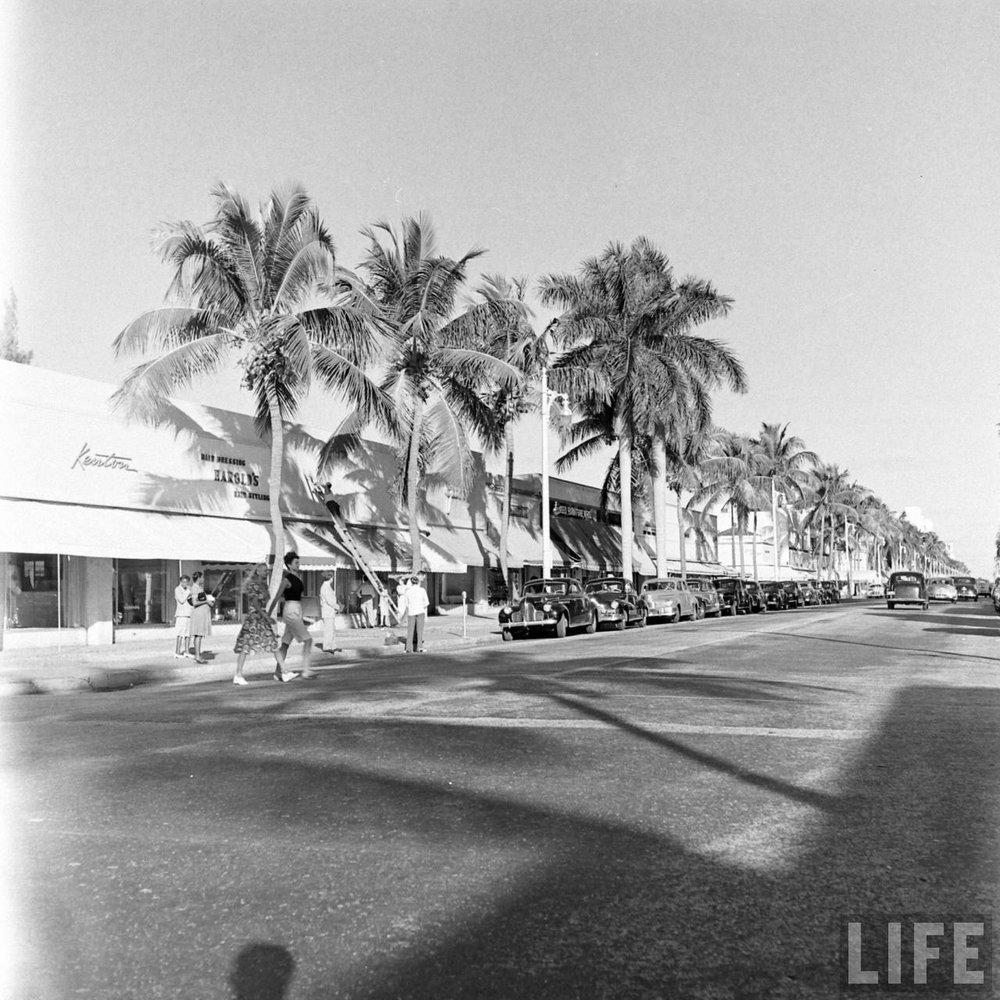 Florida, 1947. Via Time Life Archives.