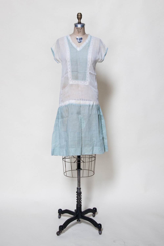 1920s Cotton Day Dress