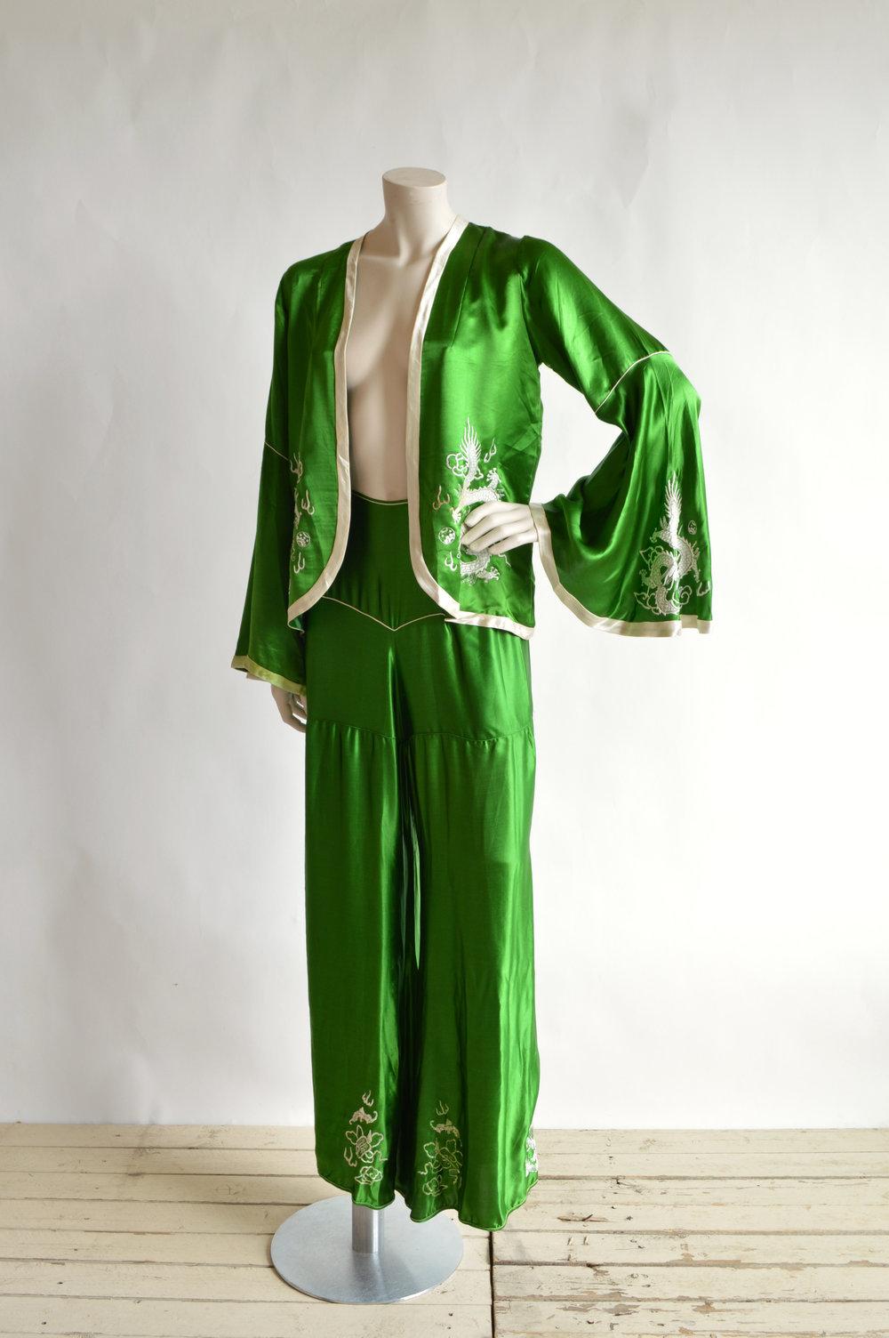 1920s Pajama Set