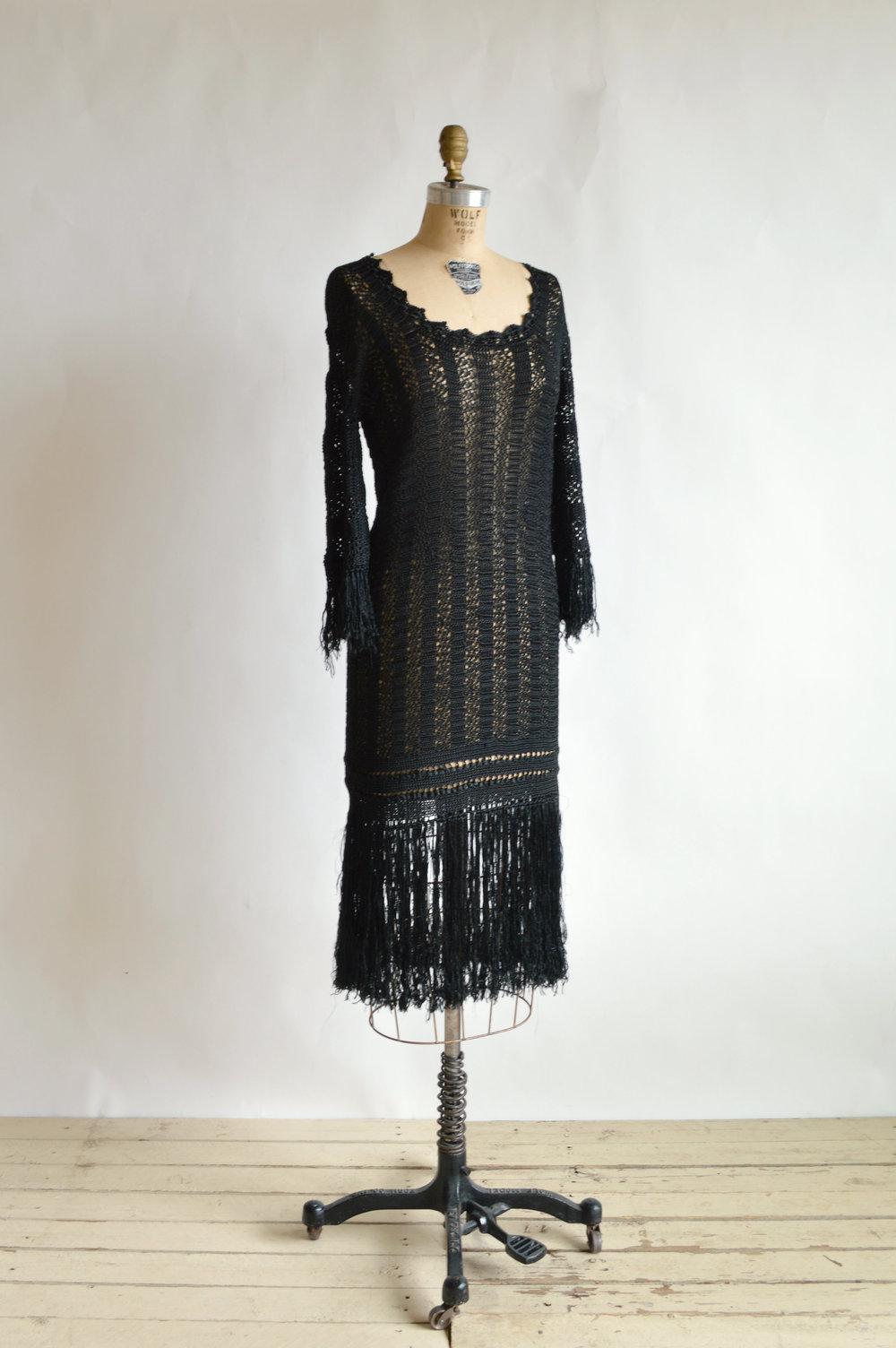 1920s Crochet Dress