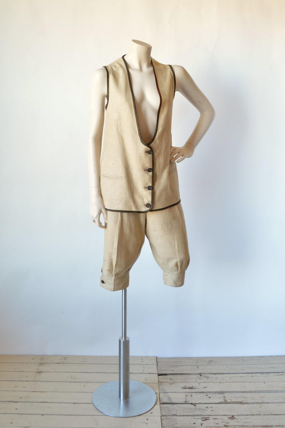 1920s Womens Sport Suit