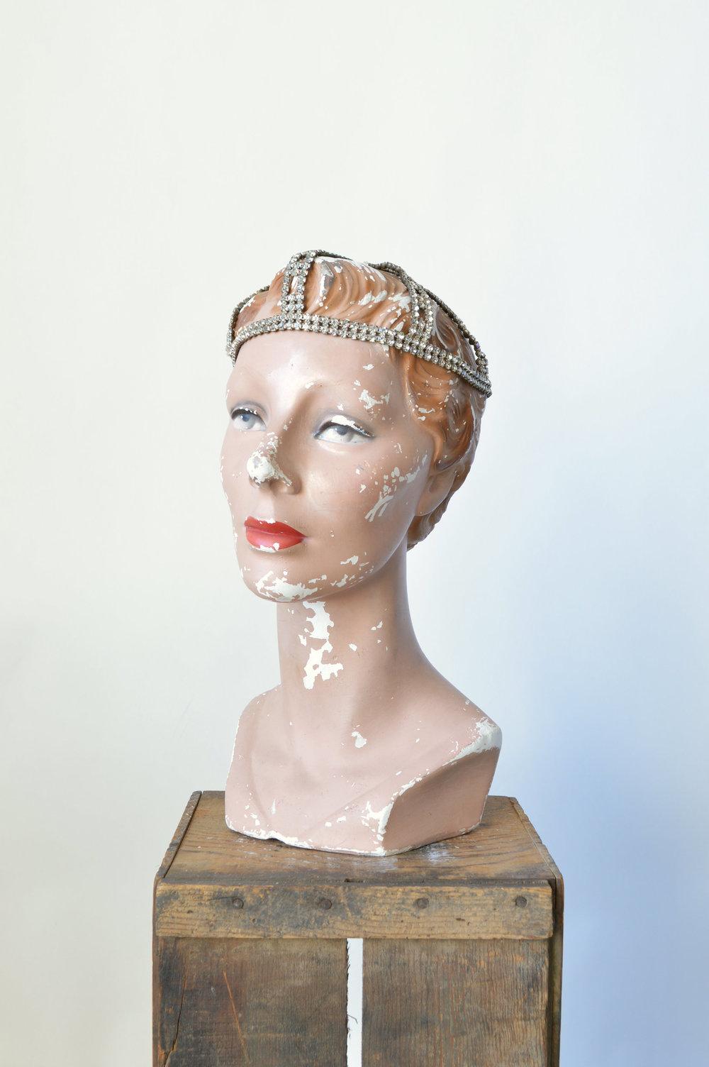 1920s Rhinestone Headpiece
