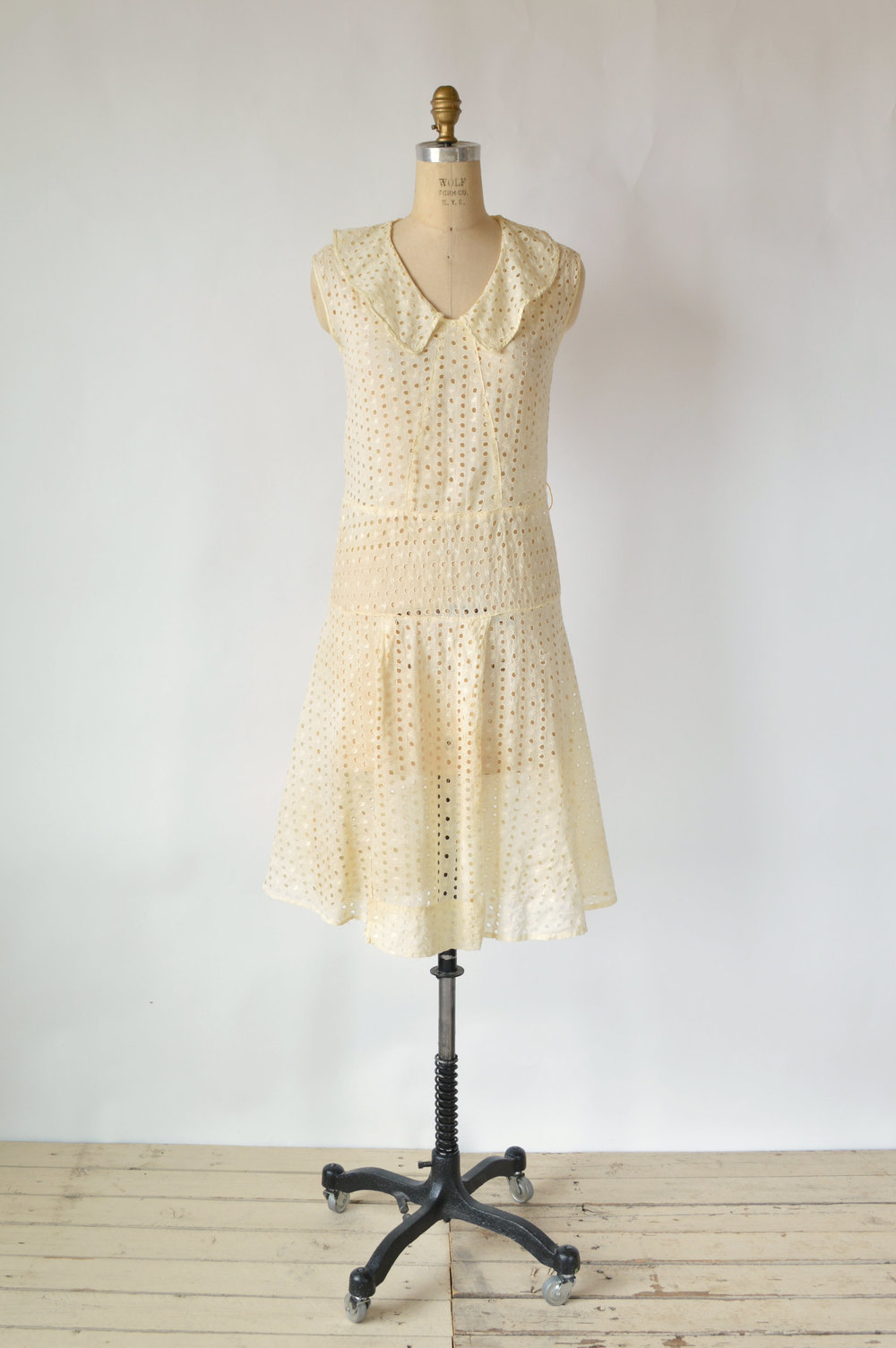 1920s Cotton Day Dress