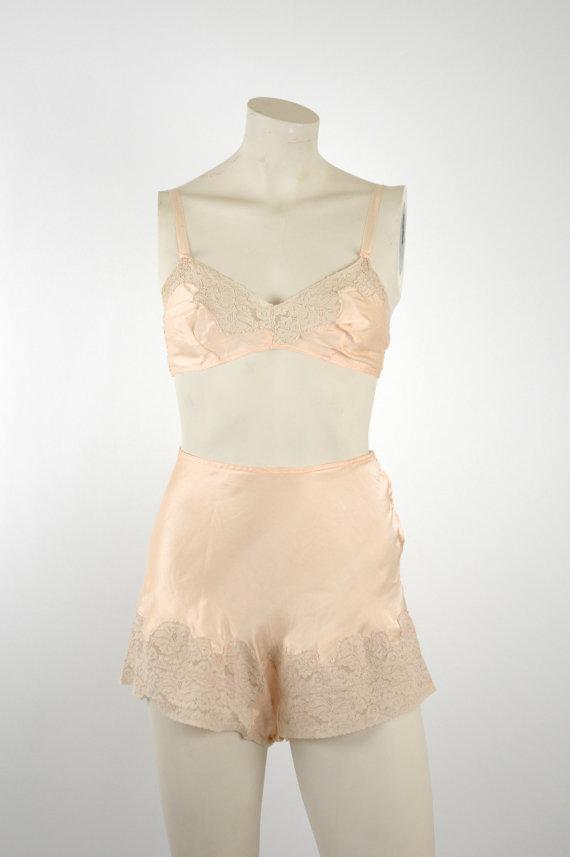 1920s Bra & Panty Set