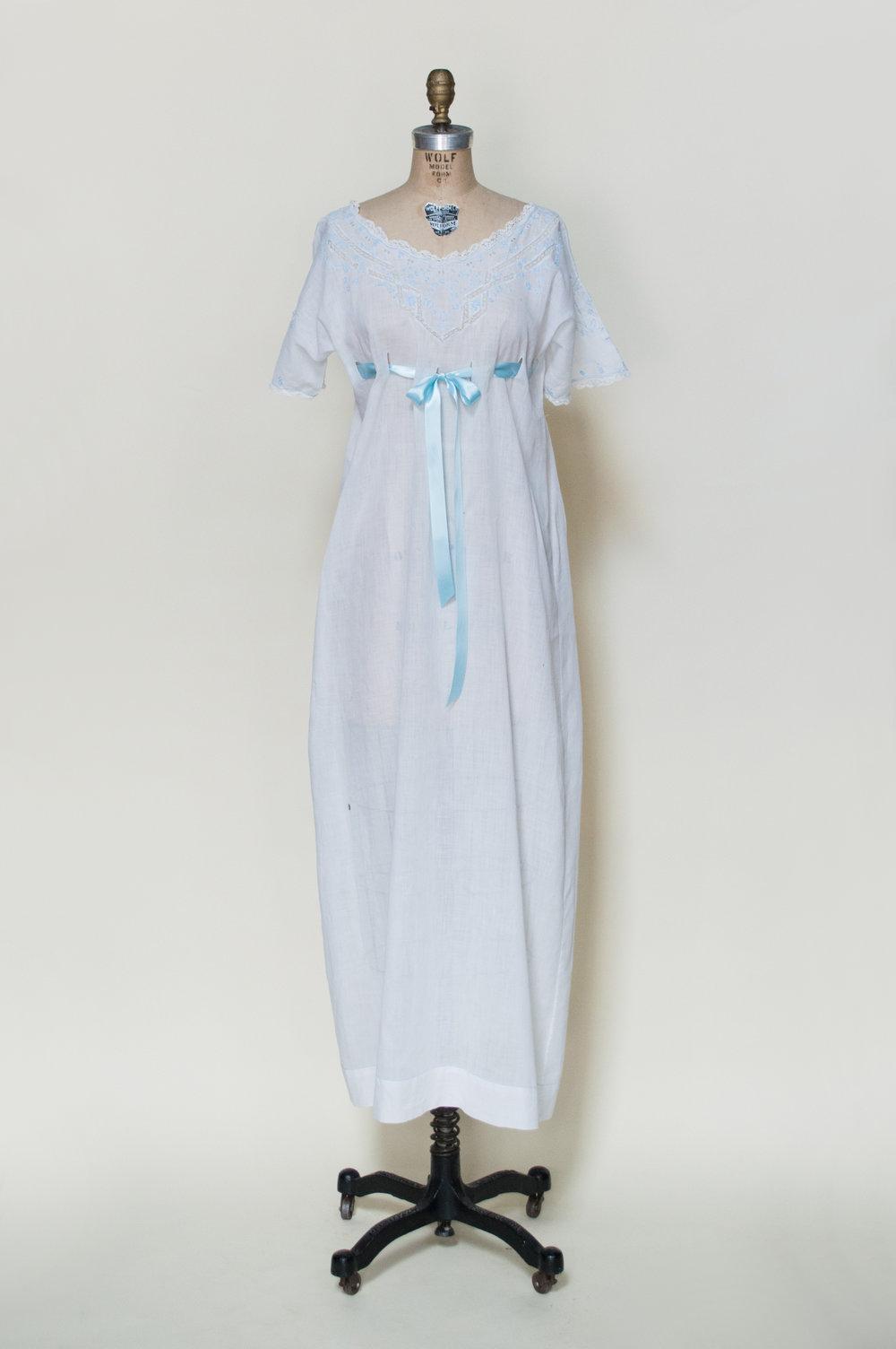Edwardian Empire-Waist Nightgown