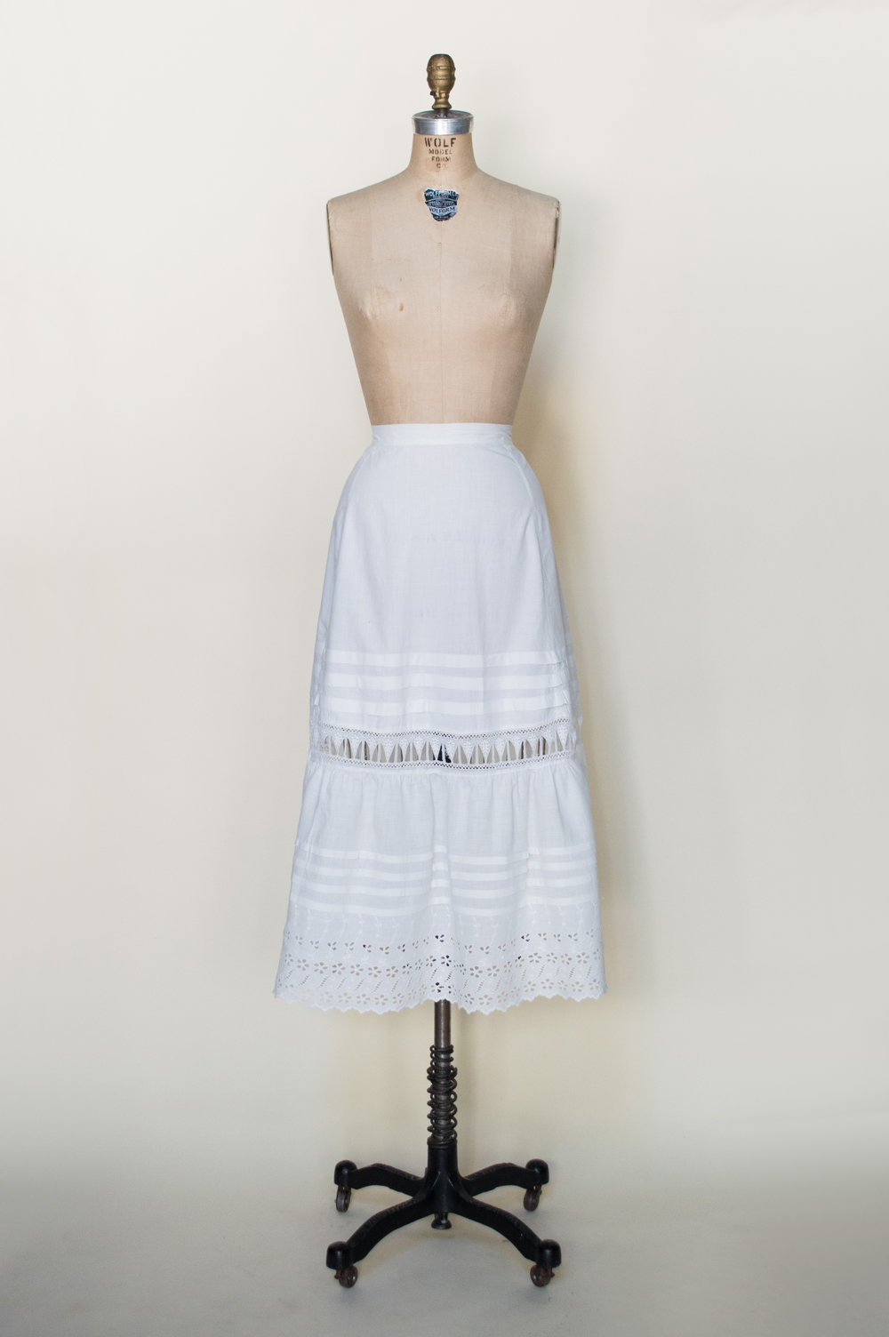 Edwardian Cotton Half Slip
