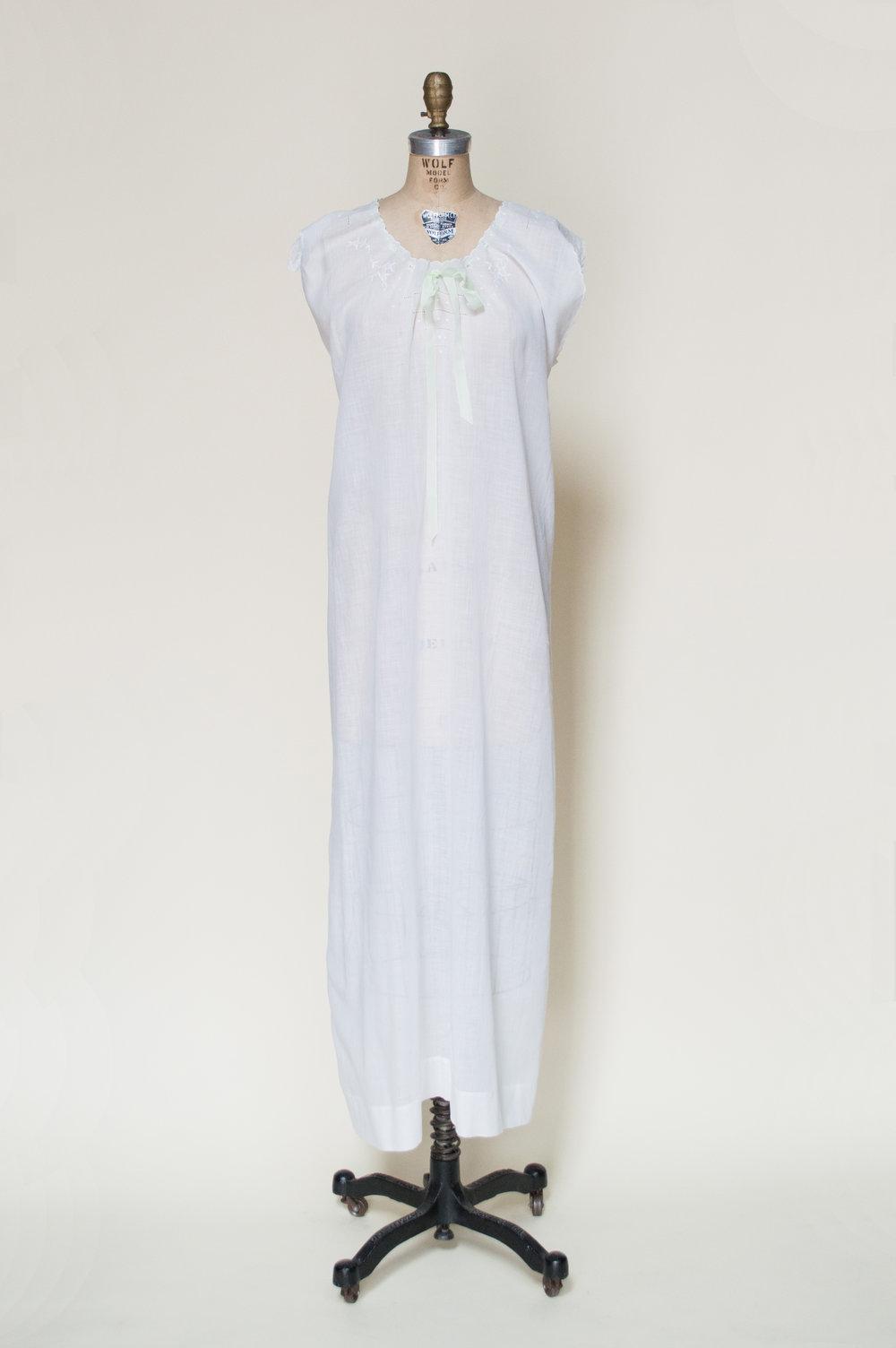 Edwardian Cotton Nightgown