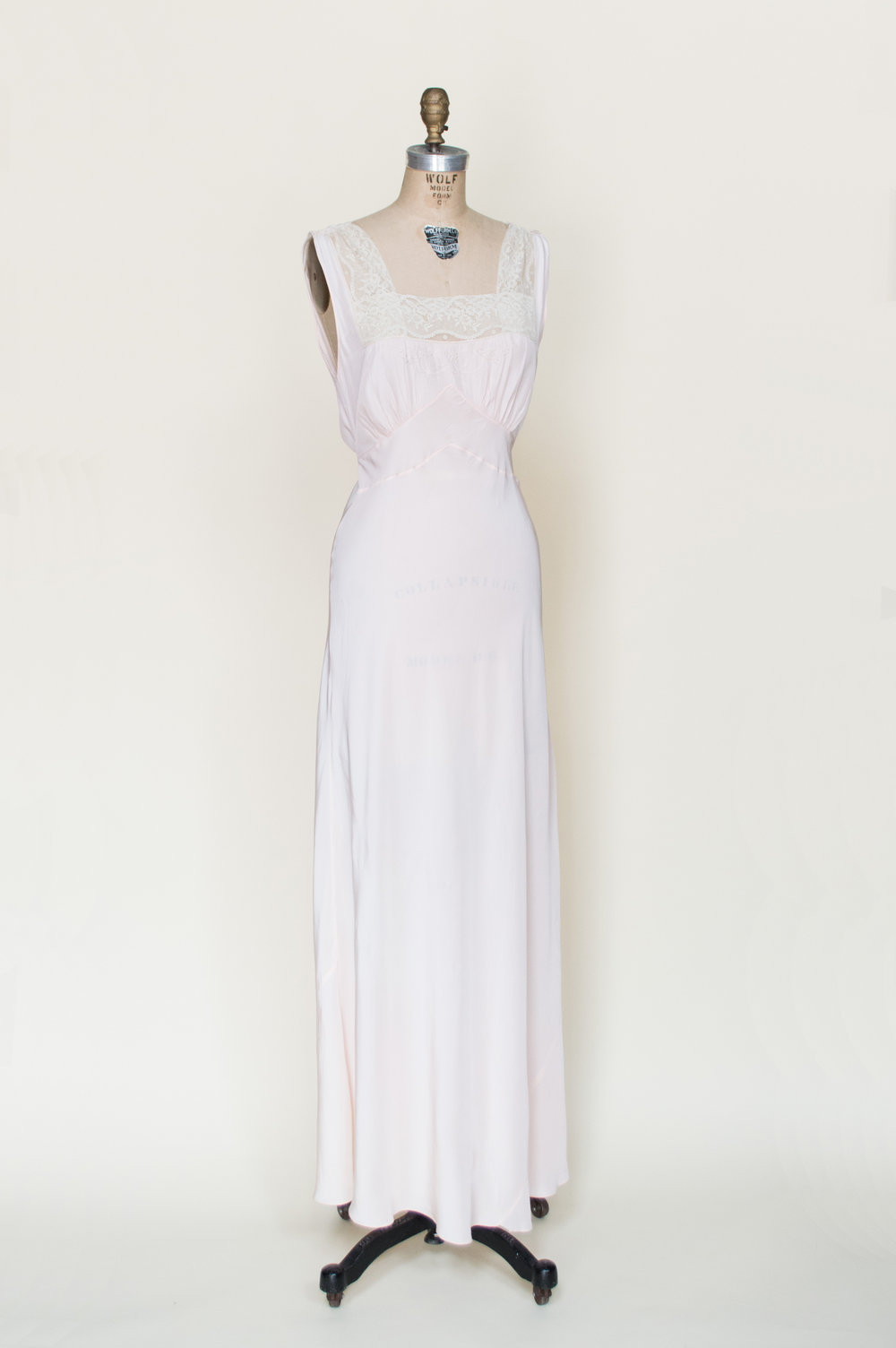 1940s Rayon Nightgown