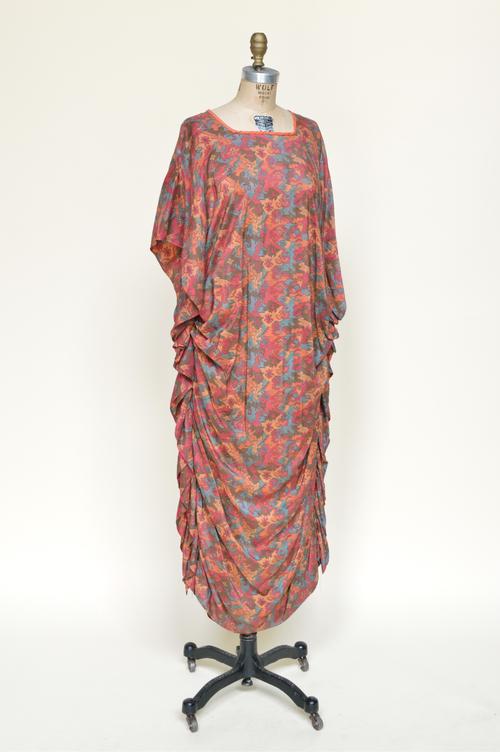 1910s Silk Cocoon Gown