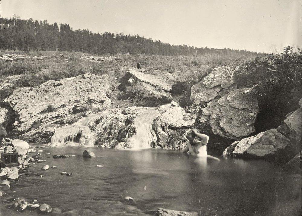 Pagosa Hot Spring, Colorado in 1874.