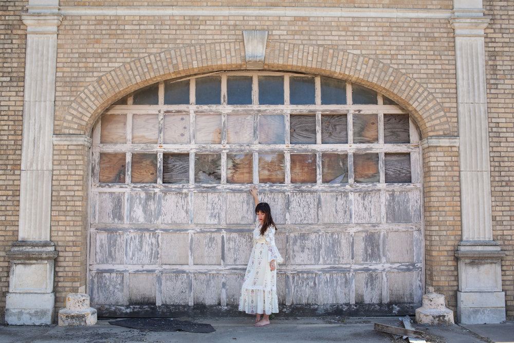 Exploring small town with Dalena Vintage.