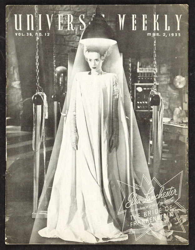 Elsa Lanchester as The Bride of Frankenstein is a classic Halloween costume.