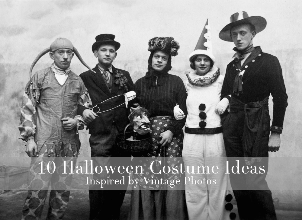 10 Halloween Costumes Inspired by Vintage Photos