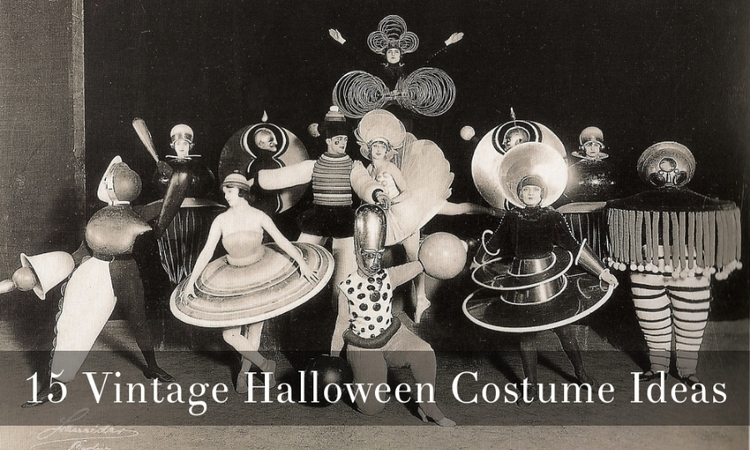 15 Vintage Halloween Costume Ideas via Dalena Vintage