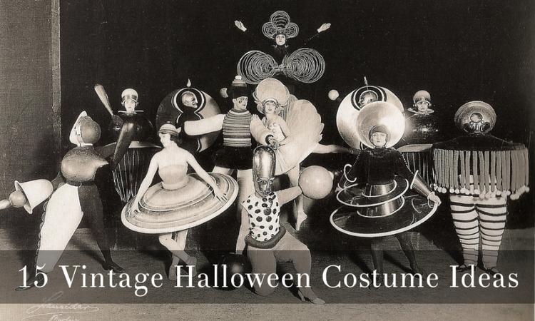 15 Vintage Halloween Costume Ideas via Dalena Vintage
