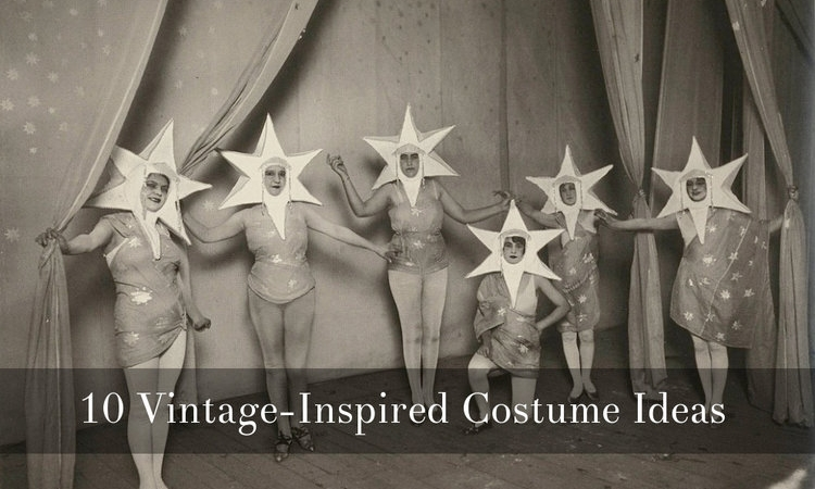 Vintage Halloween Costume Ideas via Dalena Vintage