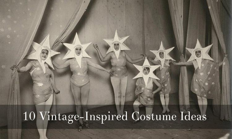 Vintage Halloween Costume Ideas via Dalena Vintage