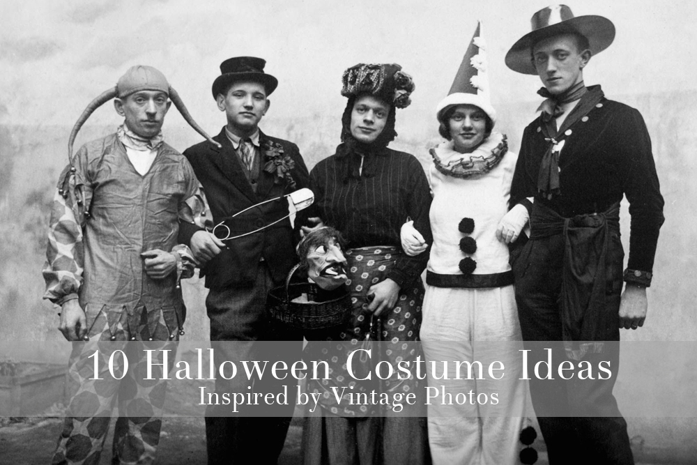 Halloween Costume Ideas Inspired by Vintage Photos