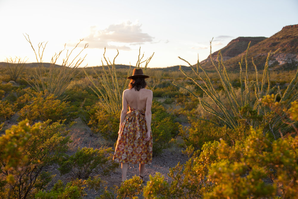 Sunsets with Dalena Vintage in the Chihuahuan Desert