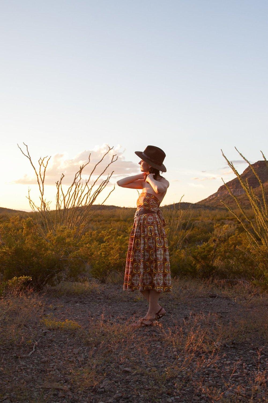 Desert scenes with Dalena Vintage