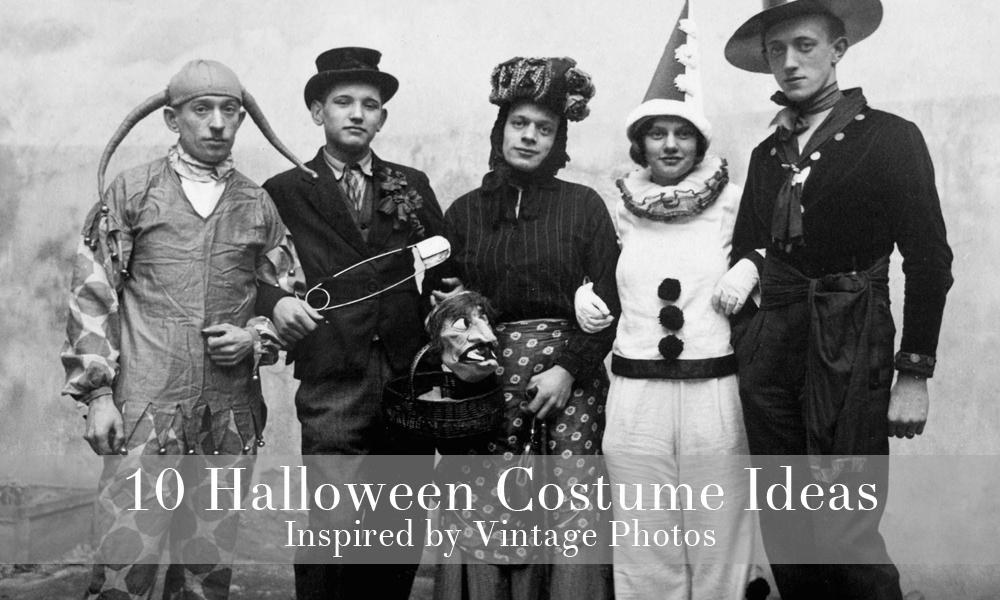 Vintage Halloween Costume Ideas