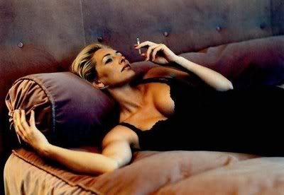 Helen Mirren Smoking - Oh she so hot!