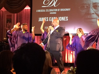 James Monroe Iglehart performs.