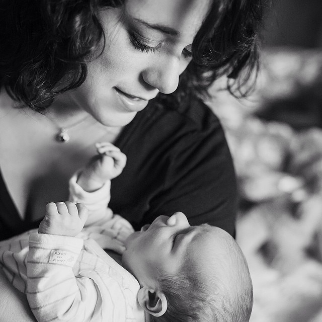 """""""I can't believe I made you."""" Do you remember thinking those words with your own babies? I sure do."""