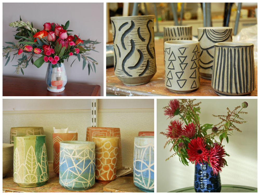 Making Vases Bond In Bloom