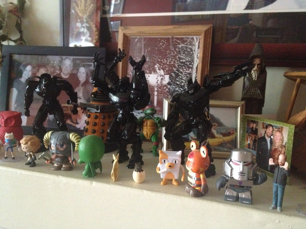 all smaller toys live in terror of their all-black magesty