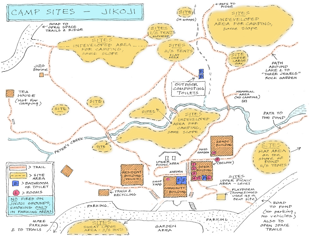 Jikoji trails map. Click to download.