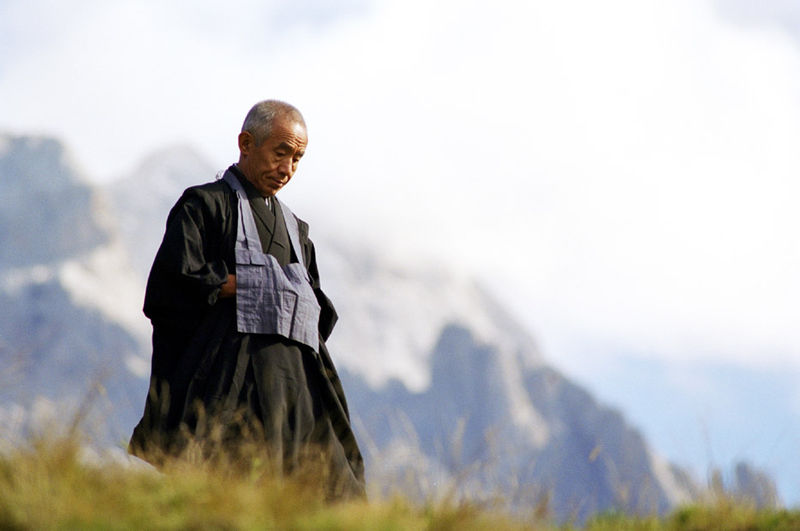"""""""The more you sense the rareness and value of your own life, the more you realize that how you use it, how you manifest it, is all your responsibility. We face such abig task,so naturally we sit down for a while.""""    Kobun Chino Otogawa"""