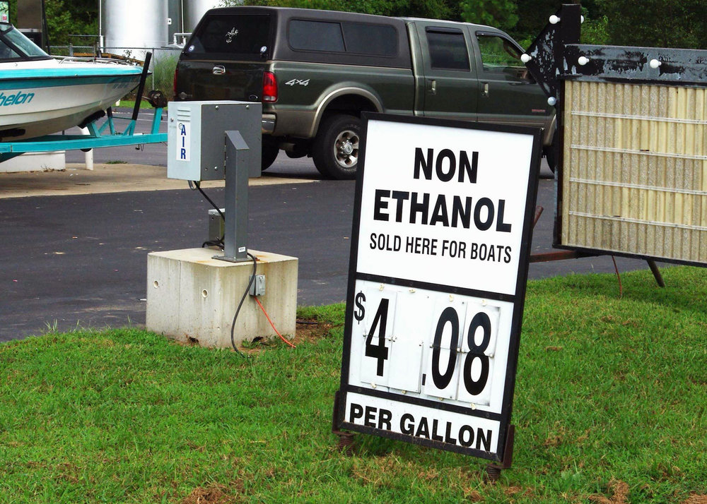 Iowans purchased more than 200 million gallons of ethanol-free fuel in 2016.