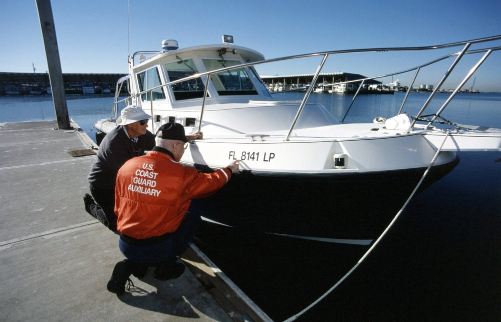 The BoatUS Foundation recommends getting a free vessel safety check to start the boating season right. (Photo Courtesy of The U.S. Coast Guard)