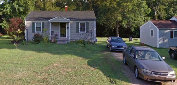 Tony's first home in Kannapolis, NC