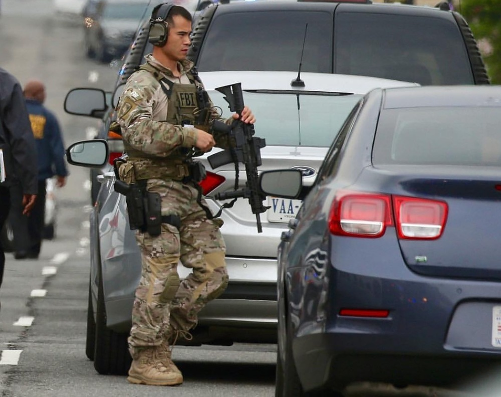 militarized fbi