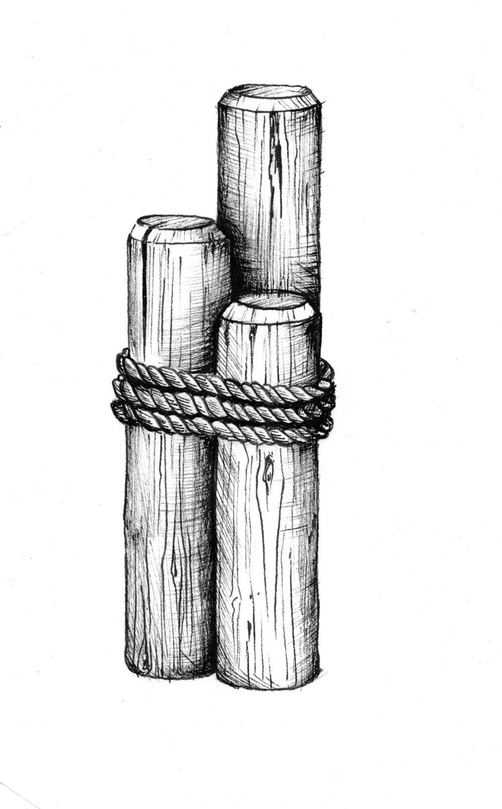 ordinary pier piling #2: Pier Pilings